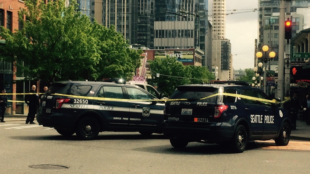One in custody after woman hit by car near Pike Place Market