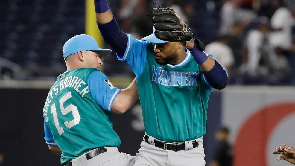 buy online 71e3a 23739 Frenchy, Gonzo, Hubba Hubba, Black Bear? Mariners announce ...