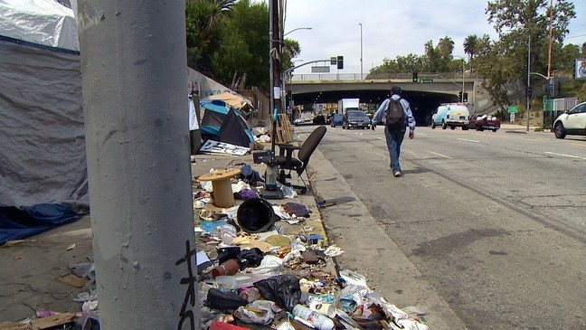 Paradise Lost: Homeless in Los Angeles | KOMO