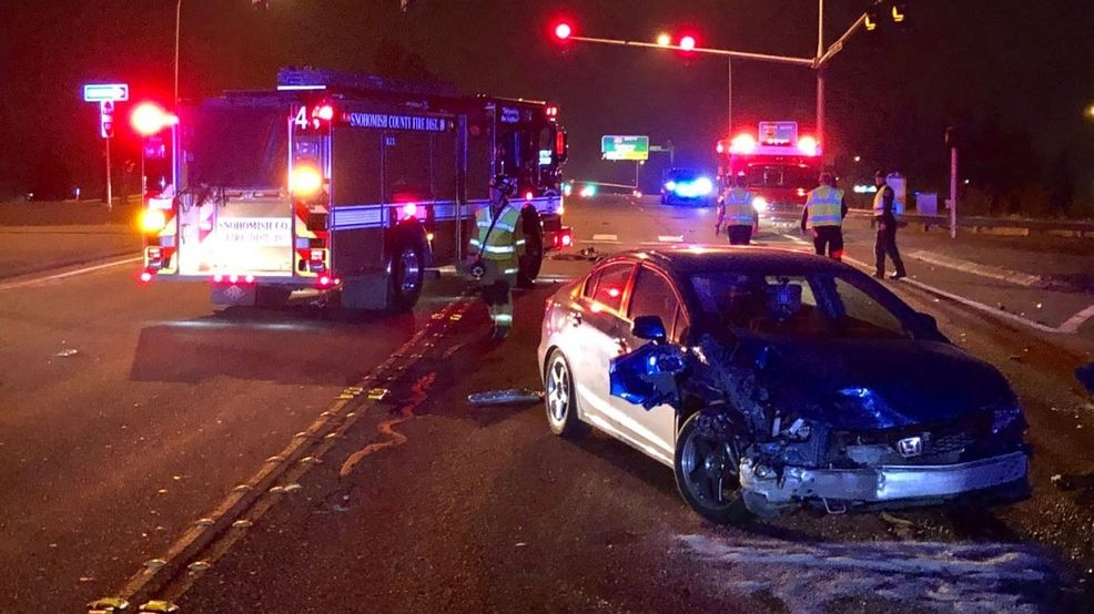 Driver On The Run After Hit And Crash Dui Then Wanders Into Collision Scene