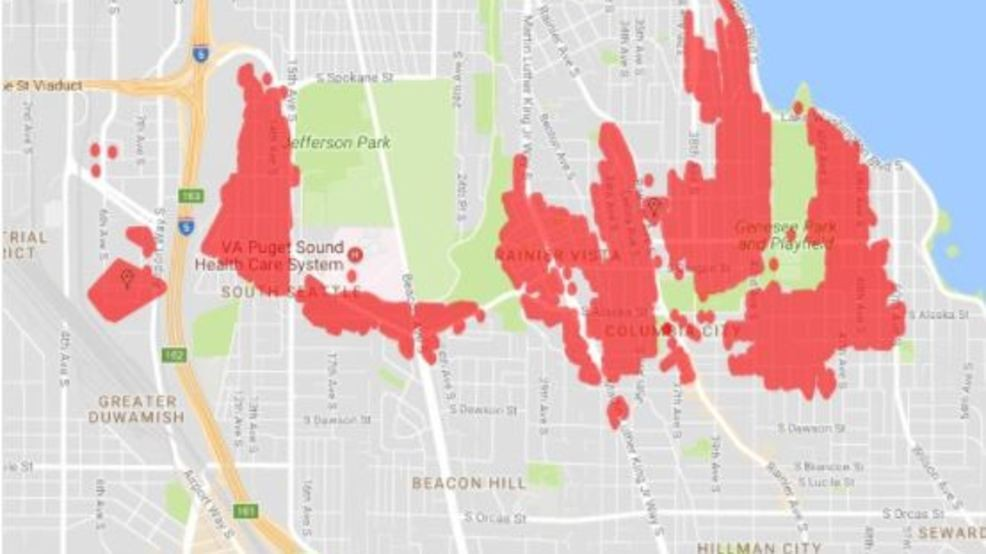 More Than 4 000 Without Power On Beacon Hill In Columbia City Komo