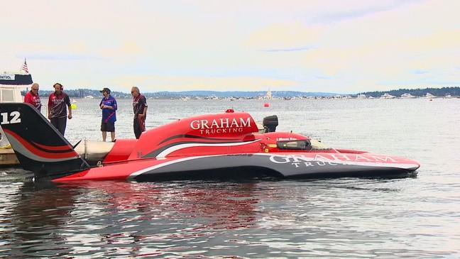 Seafair, hydroplanes ramp up on Lake Washington | KOMO