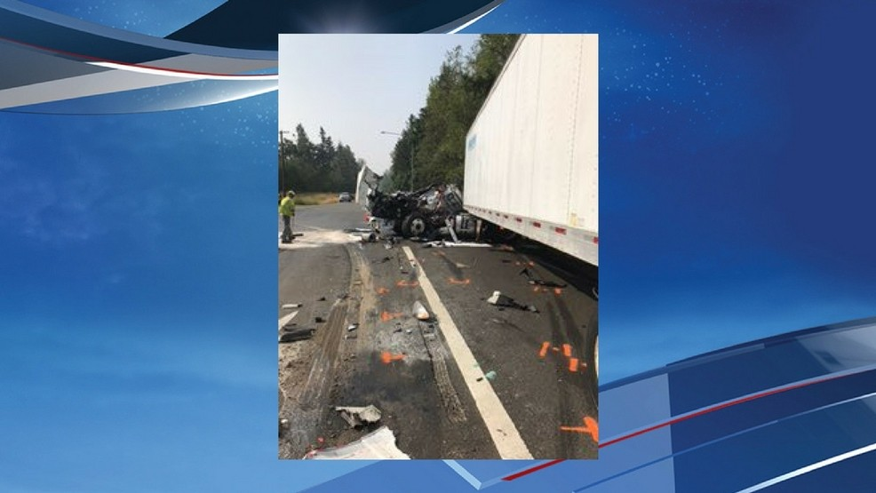Meridian East near Graham reopen after crash involving 2