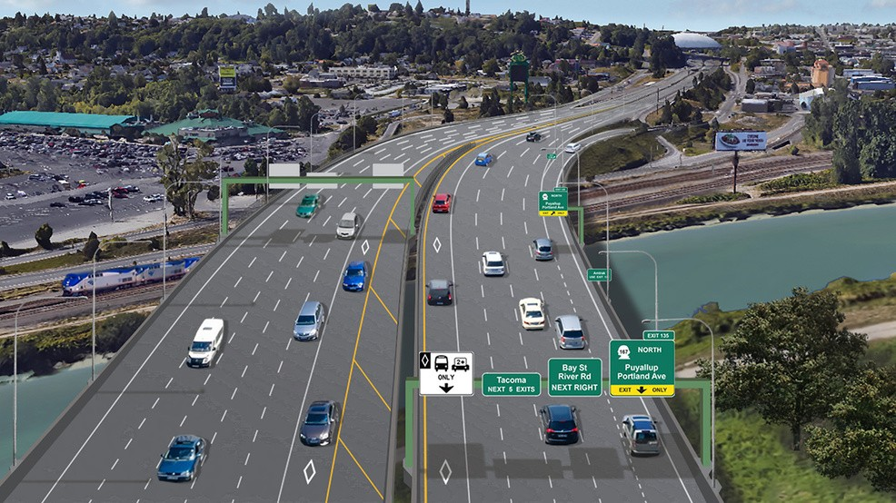 DOT: Years-long Tacoma freeway construction project can see