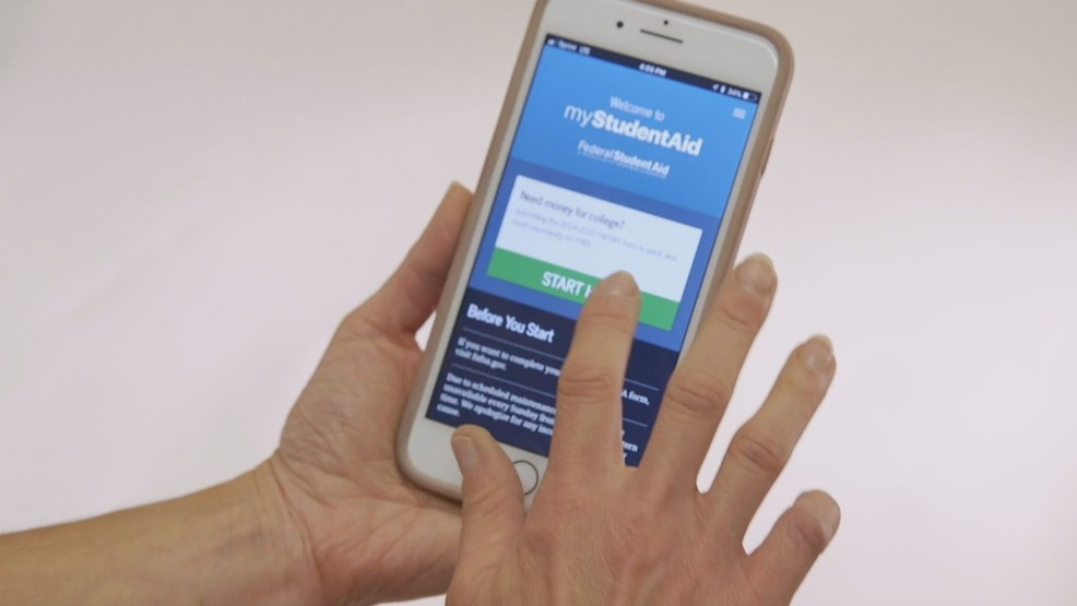 New mobile app for filling out FAFSA form | KOMO
