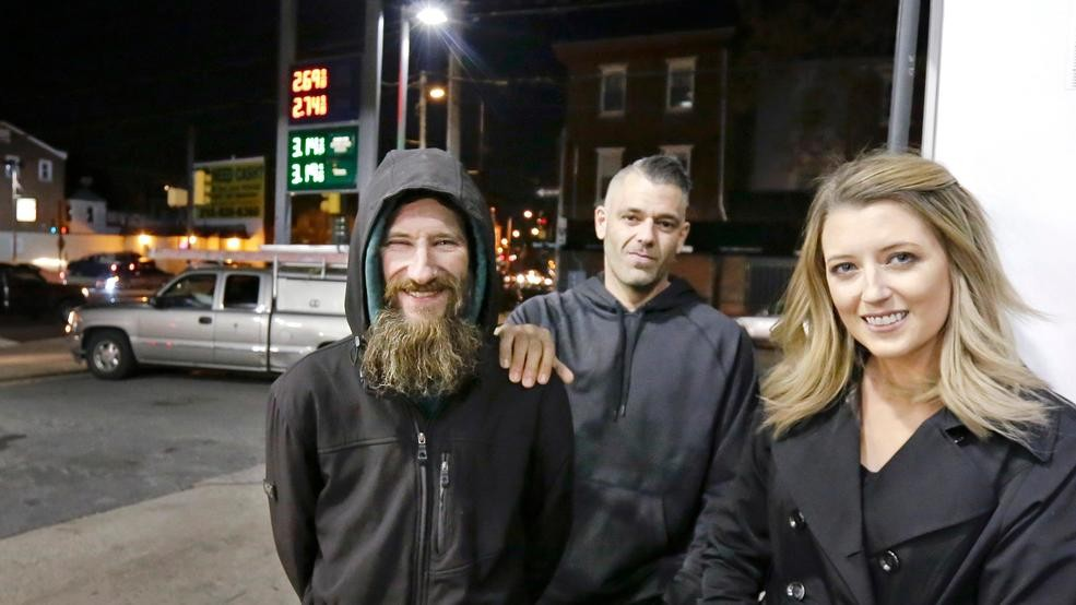 fbd9b13b8afb Viral story about couple that raised  400K for homeless man was made ...