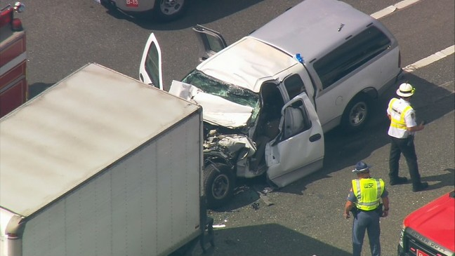 Lanes reopened after hit-and-run crash on northbound I-405