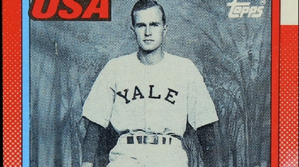 George Hw Bush Baseball Card Not As Rare As First Thought