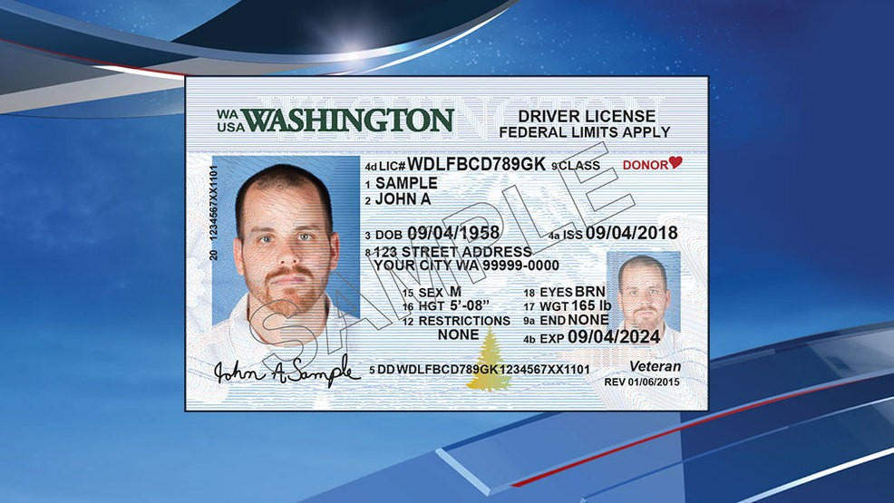 new washington drivers license 2018