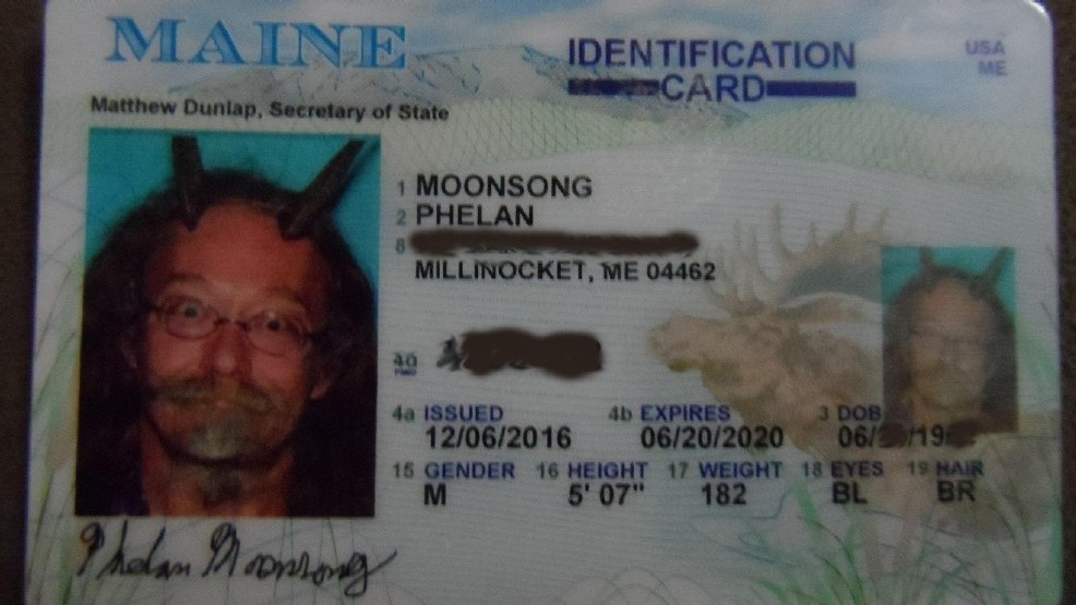 Man State Complete Maine Id Receives Horns Komo With