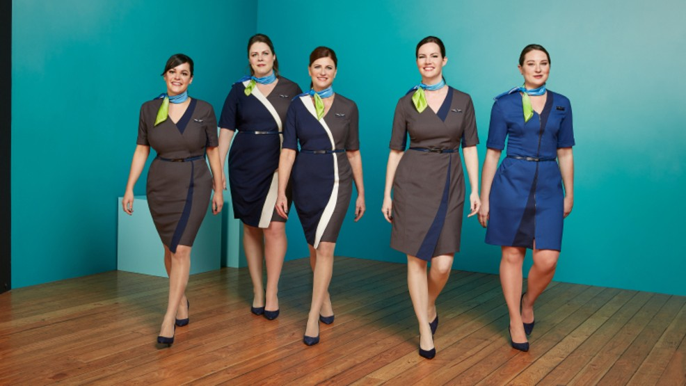 Alaska Airlines Unveils New Uniforms From Seattle Fashion Designer