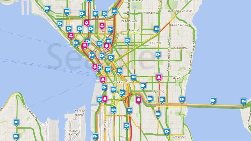 Viaduct/Downtown Seattle Traffic Cams | KOMO on seattle subway system route map, seattle demographics map, seattle to spokane map, seattle concourse map, seattle toll road map, seattle police map, seattle storm drain map, seattle airspace map, seattle climate map, seattle water supply map, seattle heat map, seattle mountain map, seattle airport location map, seattle highway map, seattle metro tunnel map, seattle walkability map, seattle express lanes map, seattle pride parade map, seattle street map with attractions,