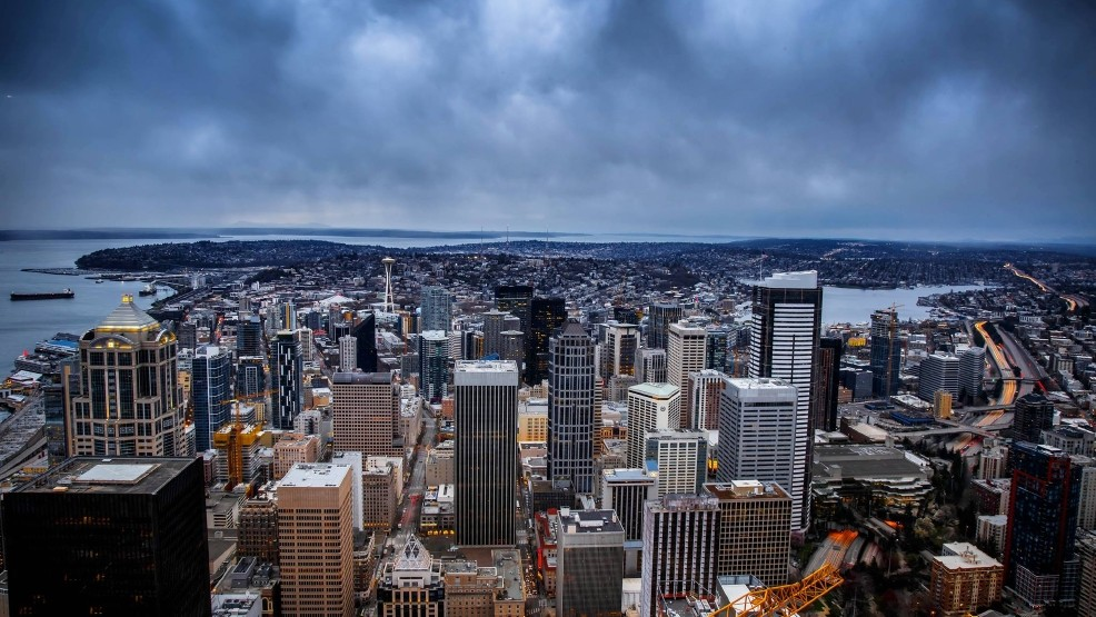 Guess what? Seattle's breaking another rainfall record | KOMO
