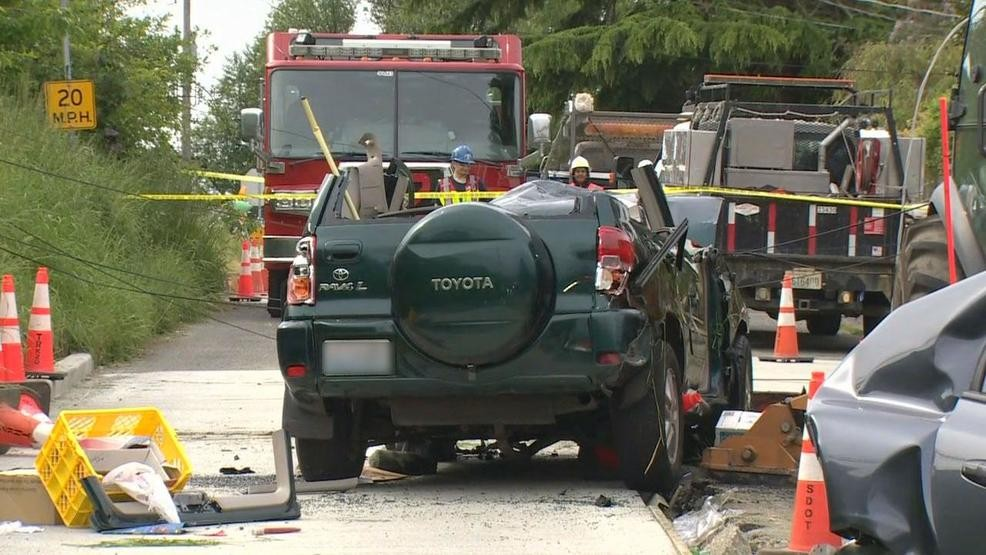 medical emergency sparks serious injury collision in west seattle