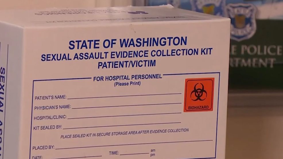 Justice delayed? 6,000 rape kits sit untested in Wash  state