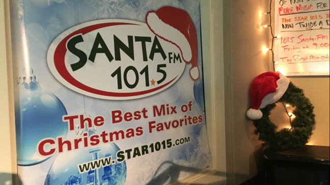 Christmas Radio Stations.Star 101 5 Who The Radio Station Just Flipped To All