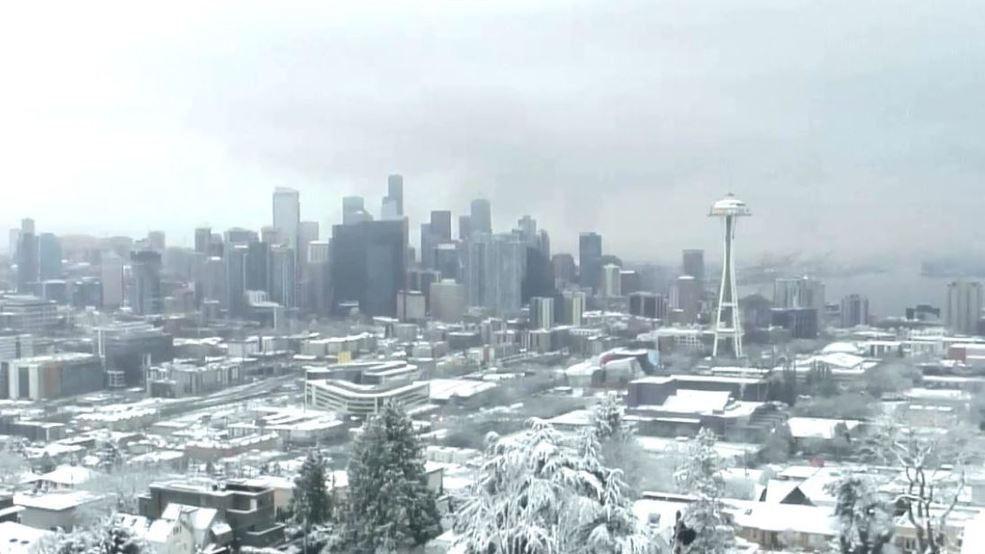 Seattle Christmas.What Are The General Odds Of A White Christmas In Seattle