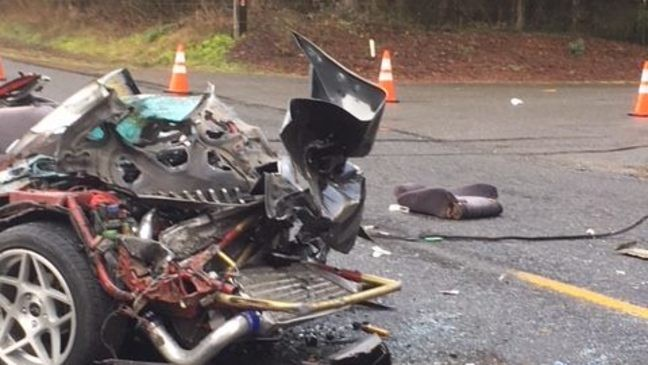 Teen driver hurrying to school critically injured in crash