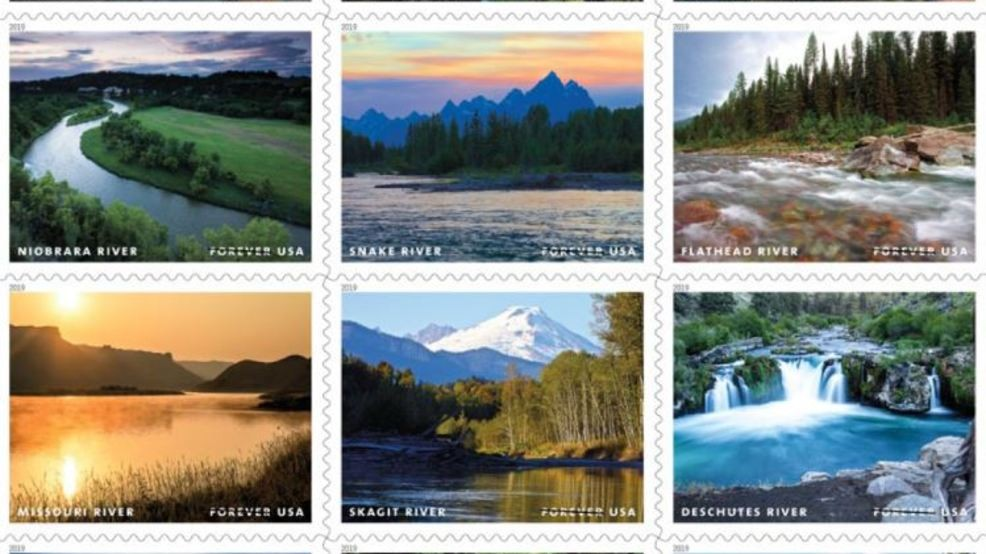 Northwest rivers featured on new Forever stamps in 2019 | KOMO