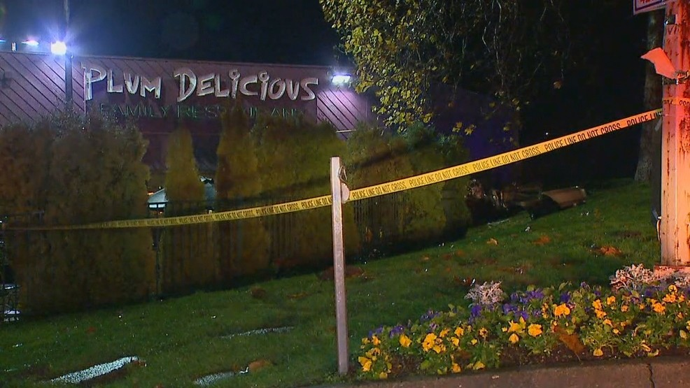 Two People Hospitalized After Car Slams Into Restaurant In