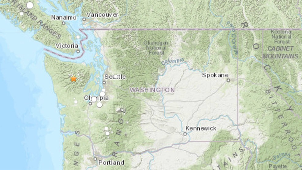 Early morning earthquake rattles Olympic National Park | KOMO on hispanic latino map, northeast mountains map, beijing air quality map, volleyball map, us presidents map, hockey map, ocean's map, trail run map, miscellania map, latin american map, boycott map, places visited map, sochi 2014 map, fiba map, putin map, final four map, weather map, little league map, michigan sports map, world map,