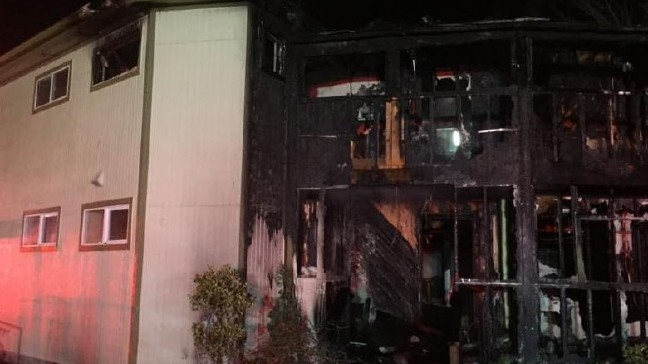 Fire burns Eastside mosque