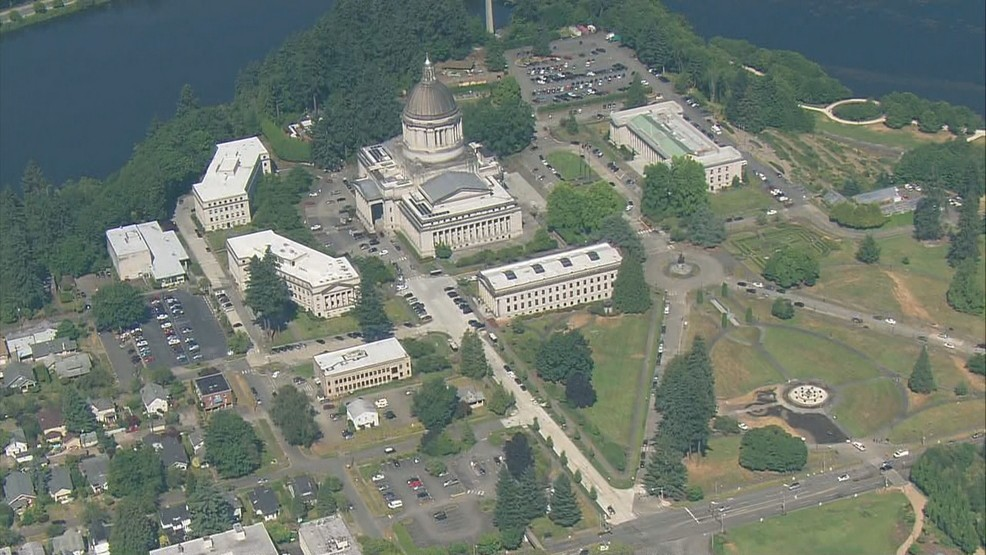 Olympia Capitol Campus Map.Update Olympia Tumwater Is Not The Nation S Worst Job Market Komo