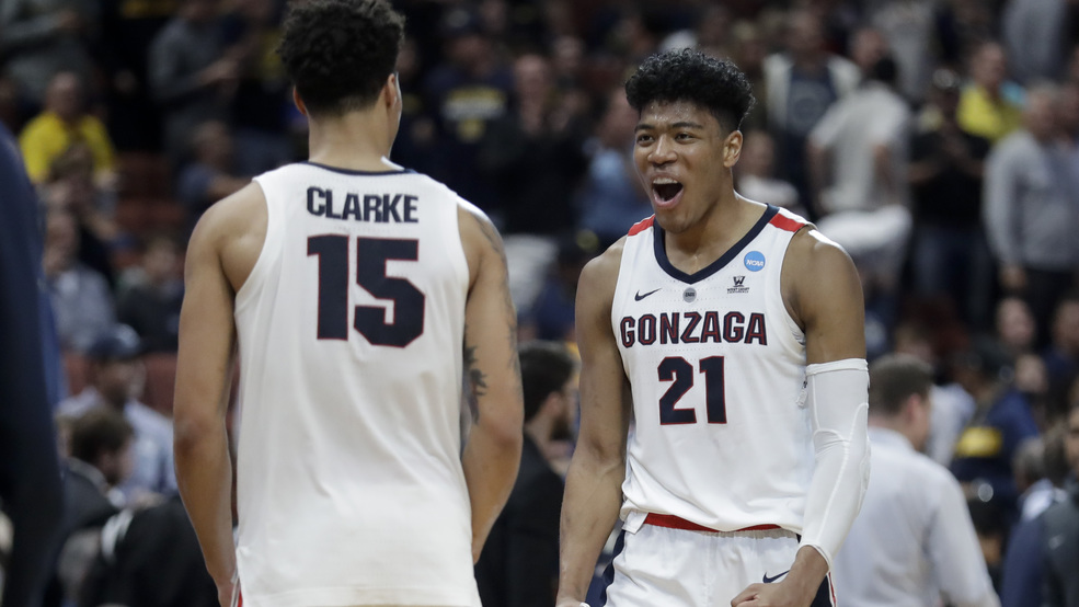 save off fcab1 8bc0a Gonzaga clobbers Florida State in Sweet 16 rematch   KOMO