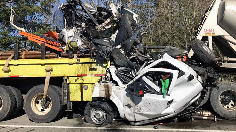 Horrific crash turns highway work zone into near-death zone | KOMO