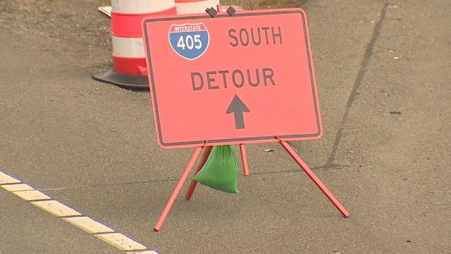 I-405 partial shutdown hitting Eastside   KOMO