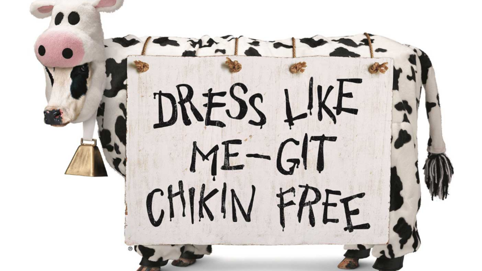 photo regarding Printable Chick Fil a Cow Costume titled Gown up for Cow Appreciation Working day July 9 and choose free of charge