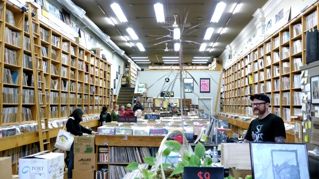 3e8ea8c8b9c6 Seattle record store marks 44 years in the resurgence of vinyl